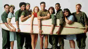 China Beach did for Vietnam what M.A.S.H. had done for the Korean War. Left to right: Robert Picardo, Concetta Tomei, Nancy Giles, Jeff Kober, Marg Helgenberger, Brian Wimmer, Dana Delany, Michael Boatman, Ricki Lake and Ned Vaughn.
