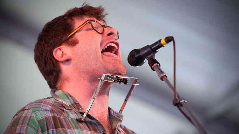 Colin Meloy performs at the 2013 Newport Folk Festival