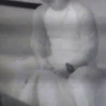 A screenshot from an FBI video showing a sting operation.