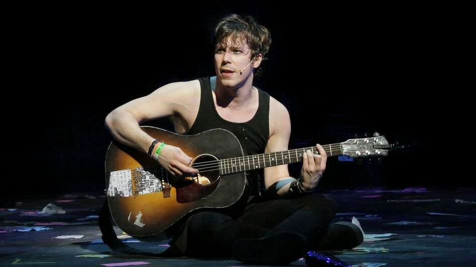 Gallagher says American Idiot was one of the most physically intense shows he has ever done. (AP)