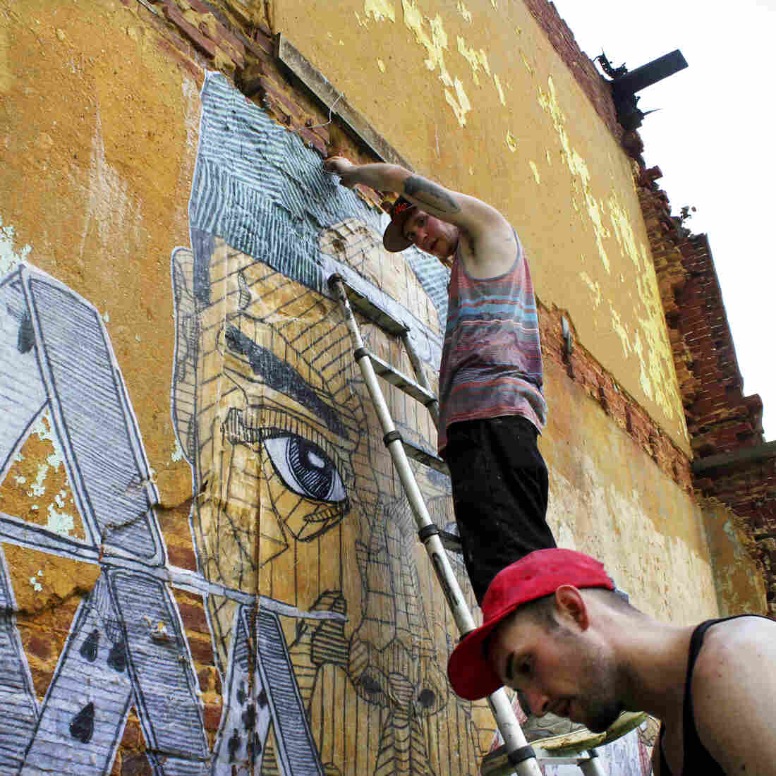 Baltimore Activists Use Art And The Web To Fight Blight