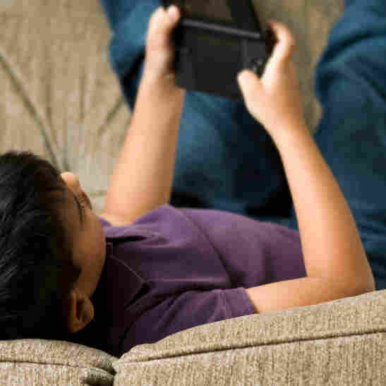 "The American Academy of Pediatrics recommends that children have no more than two hours a day of ""screen time."""