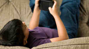 "The American Academy of Pediatrics recommends that children have no more than two hours a day of ""screen time.&quot"