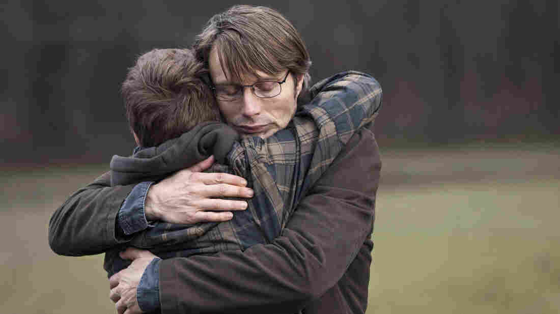 Mads Mikkelsen plays Lucas, a schoolteacher accused of sexual abuse, in Thomas Vinterberg's latest film, The Hunt.