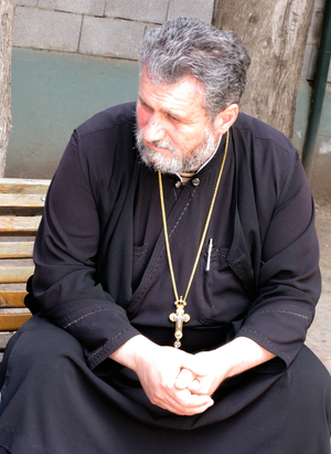 The Rev. Mikael Botkovali of the Georgian Orthodox Church says homosexuals