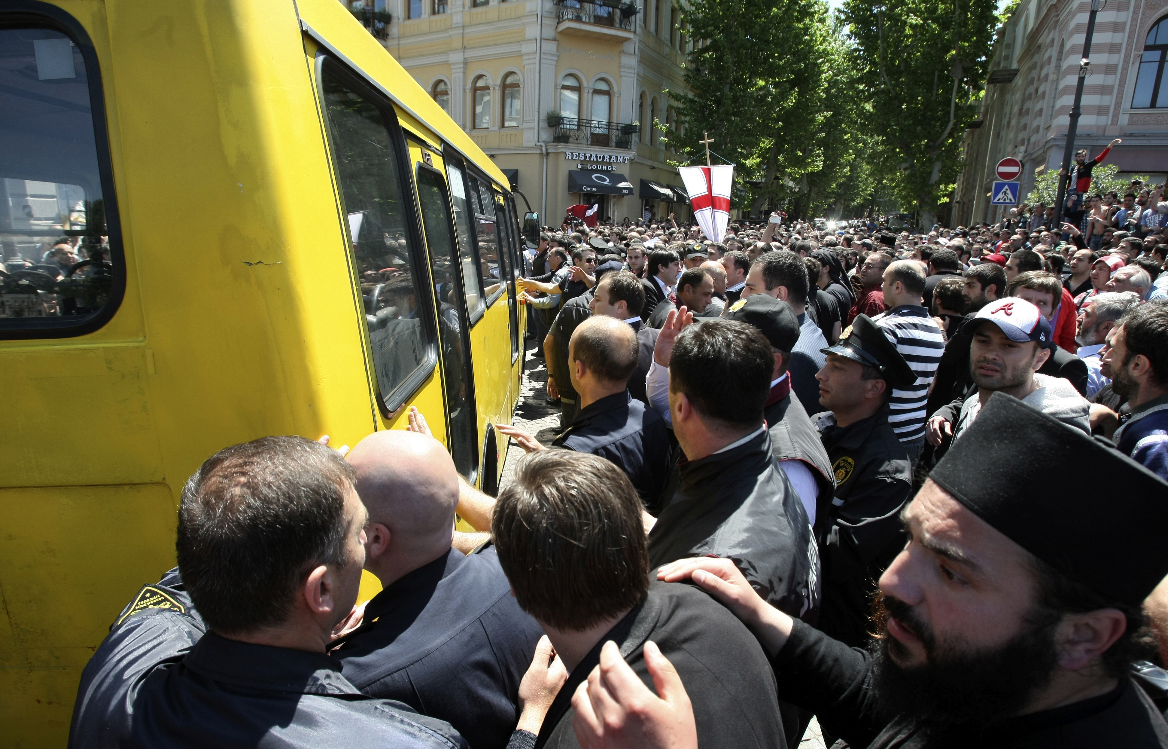 Anti-Gay Riot In Tblisi Tests Balance Between Church, State