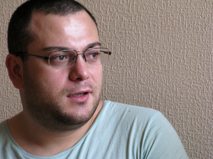 Irakli Vacharadze heads an LGBT organization called Identova, or