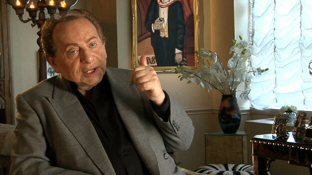 Jackie Mason is one of a host of comedians interviewed in When Comedy Went to School, a documentary about a generation of Jewish comics and the Catskills resorts that nurtured them.