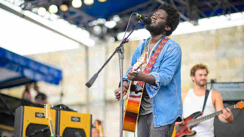 Michael Kiwanuka live at the 2013 Newport Folk Festival.