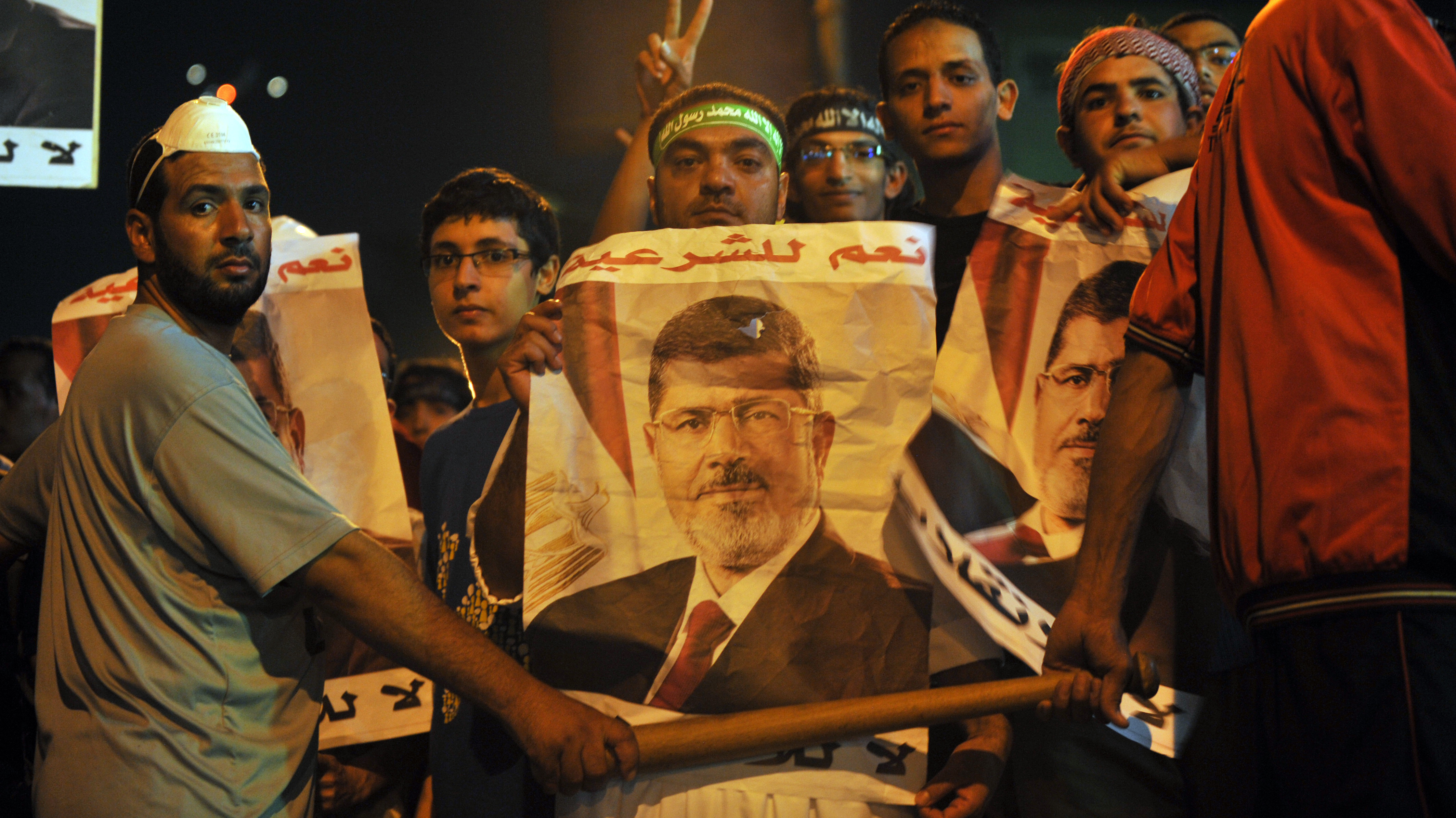 Egypt's Ousted President Morsi Is 'Well,' Says EU Official