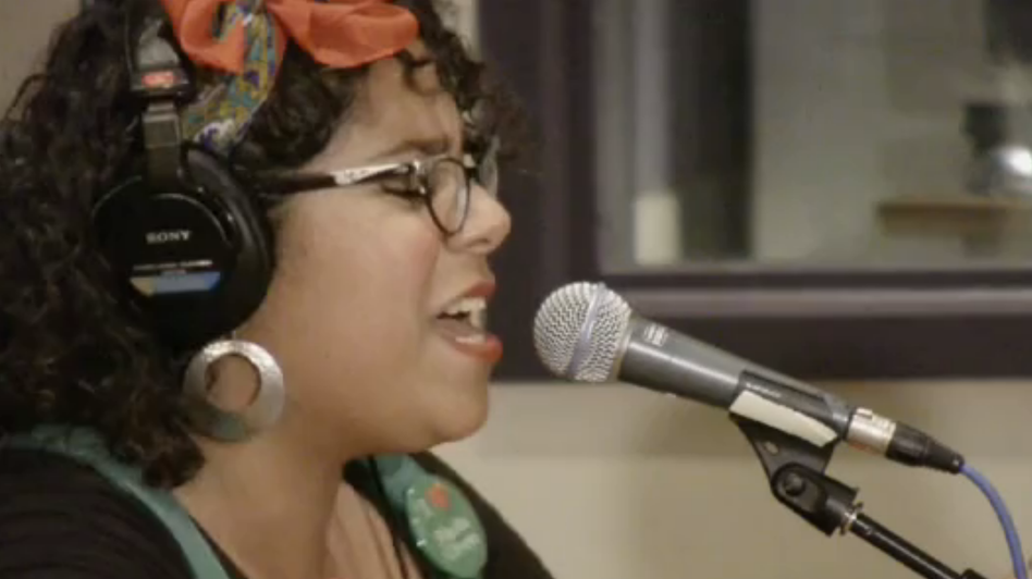 La Santa Cecilia performs live in the World Cafe studios.