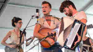 Spirit Family Reunion performs at the 2013 Newport Folk Festival.