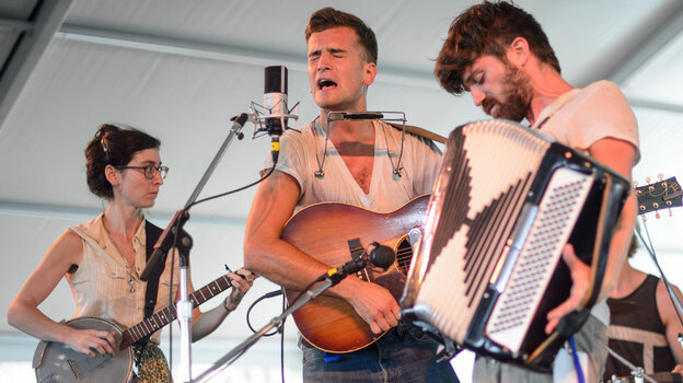 Spirit Family Reunion performs at the 2013 Newport Folk Festival.