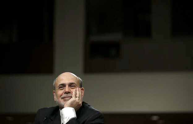 Federal Reserve Board Chairman Ben Bernanke in May of 2013.