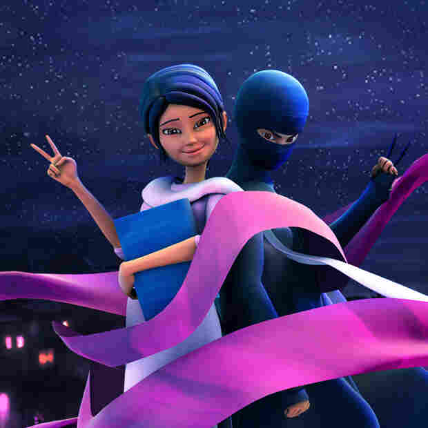 Lady In Black: 'Burka Avenger' Fights For Pakistan's Girls