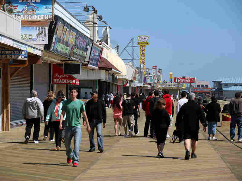 In Grabenstein's book Fun House, Detective John Ceepak goes up against the rowdy cast of a reality show near the Seaside Heights boardwalk.