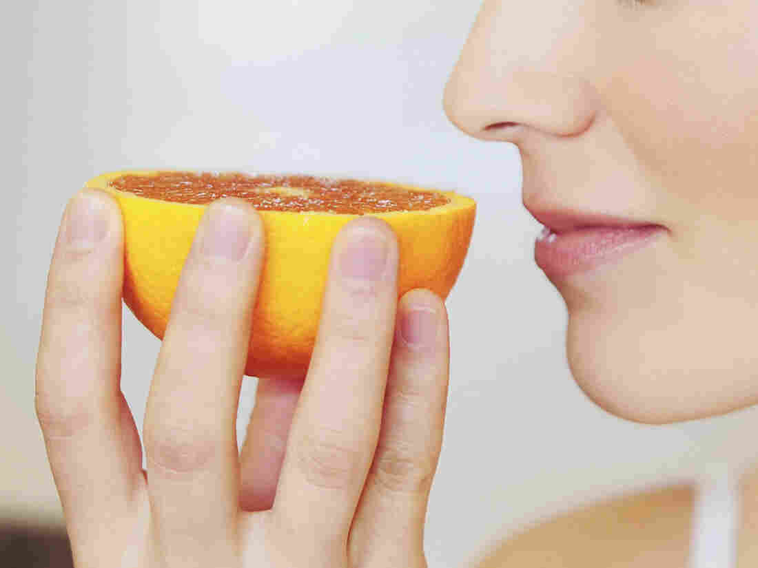 Women in a recent study who were trying to diet ate about 60 percent less chocolate after smelling oranges.