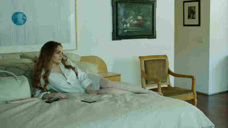 Lohan turns in a studious but labored performance as Tara, a vapid, status-obsessed Tinseltown 20-something.