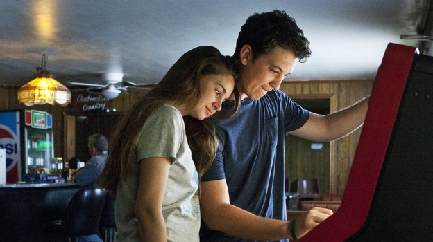Shailene Woodley, who played George Clooney's rebellious daughter in The Descendants, turns in a splendidly calibrated performance as a soft-spoken good girl who falls hard for a high school party animal (Miles Teller) in The Spectacular Now. (Wilford Harewood )