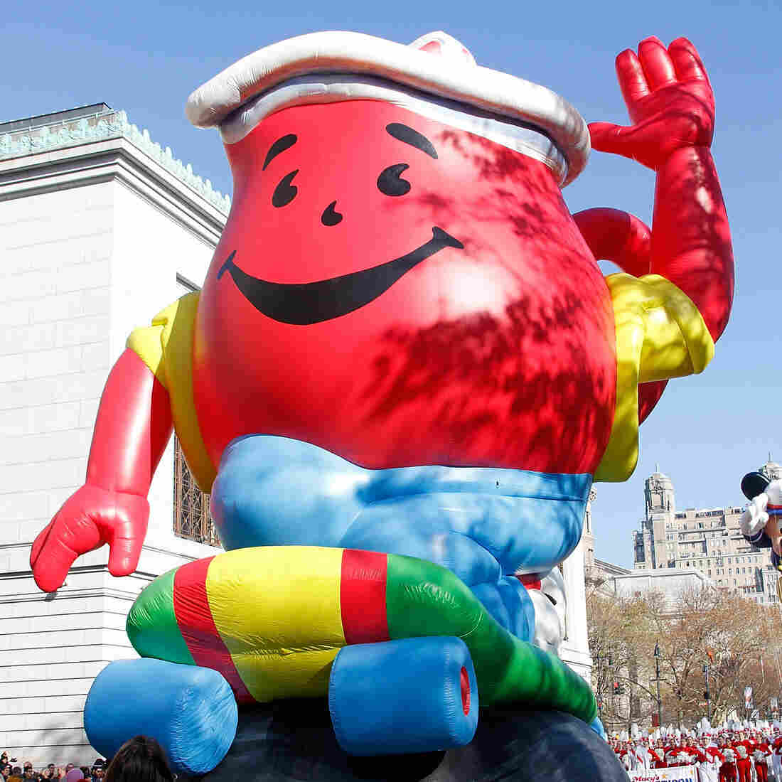 The Kool Aid falloon at the 86th Annual Macy's Thanksgiving Day Parade on Nov. 22, 2012, in New York City.