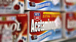 Acetaminophen has been added to the list of over-the-counter painkillers that can cause rare but deadly skin reactions.