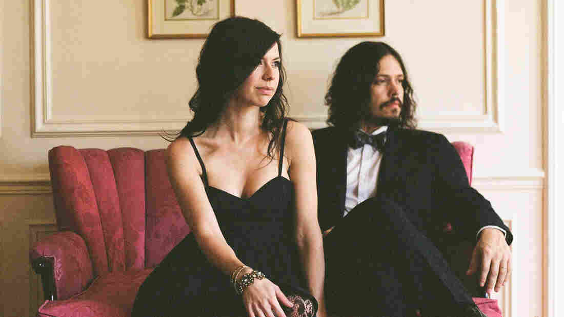 Joy Williams and John Paul White of The Civil Wars. The duo's new, self-titled album arrives on the heels of canceled tour dates and an ongoing hiatus from performing together.