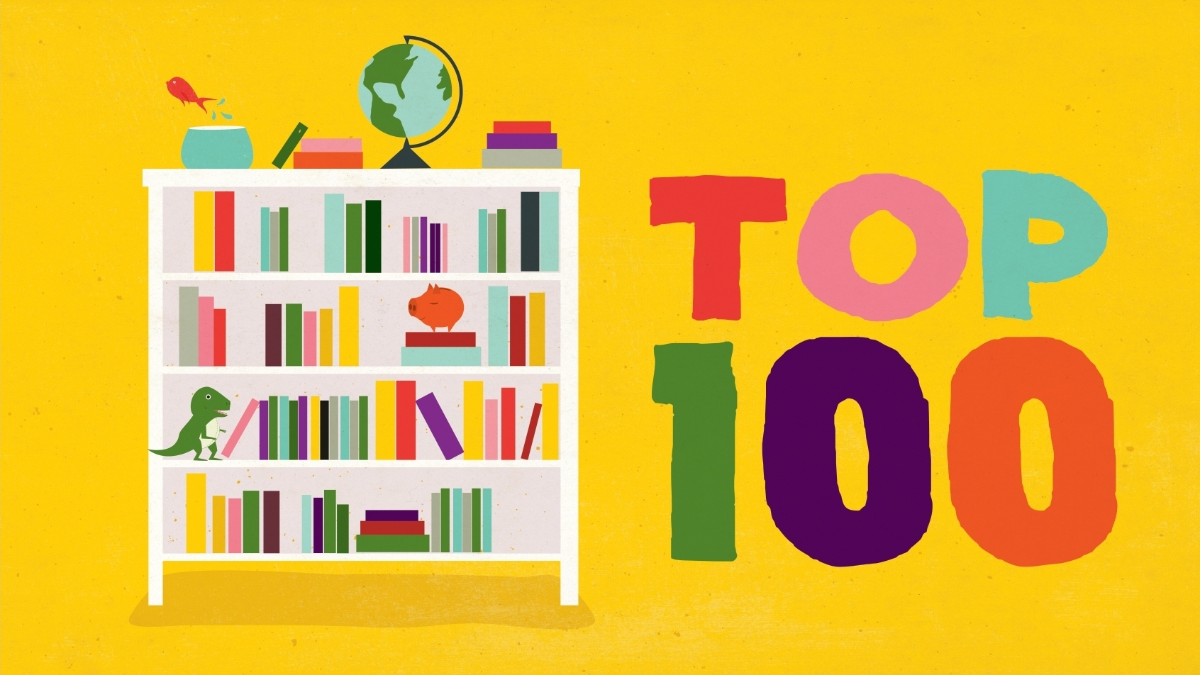 image regarding Great American Read Printable List referred to as The Final Backseat Bookshelf: 100 Should really-Reads For Youngsters 9