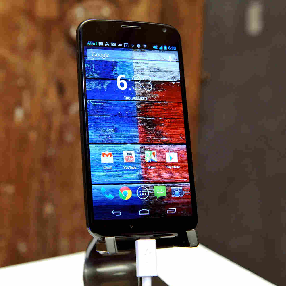 The new Moto X launched Thursday in New York City.