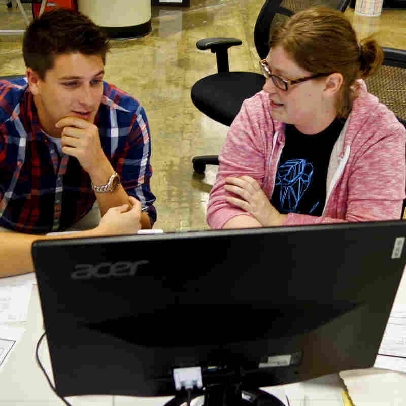 At Menlo, employees practice pair programming — they work two to a computer to facilitate constant feedback and communication.