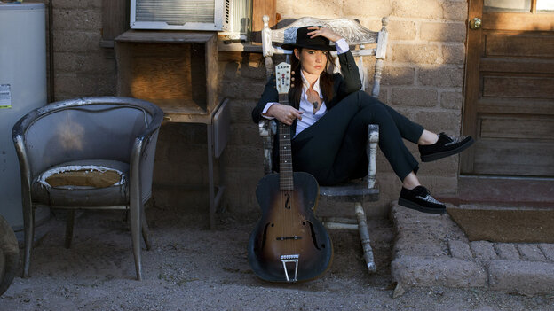 KT Tunstall's album Invisible Empire // Crescent Moon was recorded in two sessions, which fell on either side of a life-changing summer for the singer.