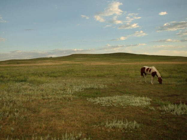 Pine Ridge Indian Reservation, South Dakota.