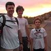 Blair Cook and his sons, Dalton and Keegan, set out to hike Piestewa Peak in Central Phoenix.