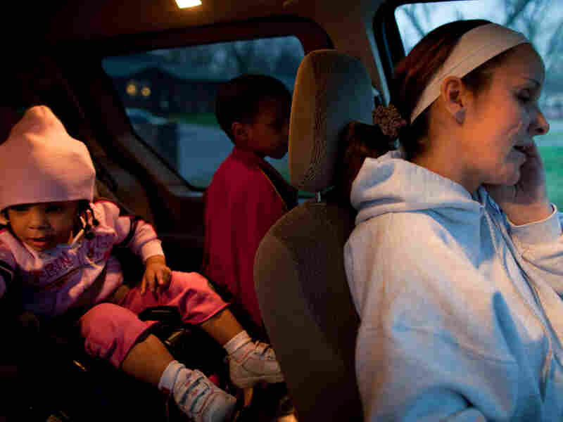 Sheila Simpkins McClain, was once a prostitute, but now she has two children and works with organizations that help other women escape the life on the streets.