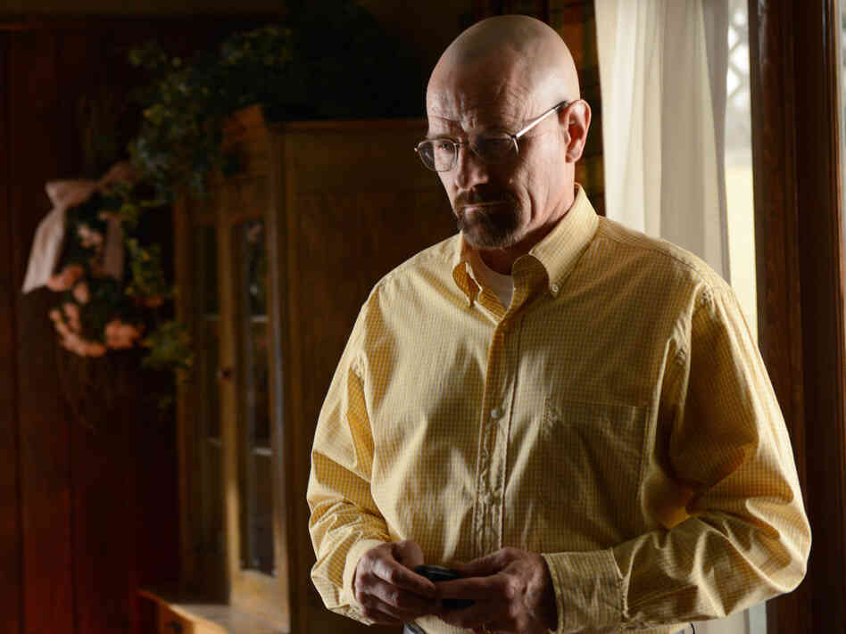 Bryan Cranston as Walter White on Breaking Bad.