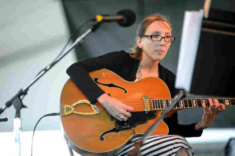 With a sound like no other, guitarist Mary Halvorson plays a quintet piece so new, it only has a number (No. 35).