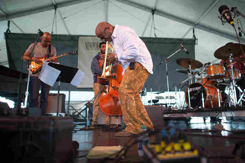 The Terence Blanchard Quintet lays down some new jams from Magnetic, including a guest spot from guitarist Lionel Loueke and some electric feels for Blanchard's trumpet.