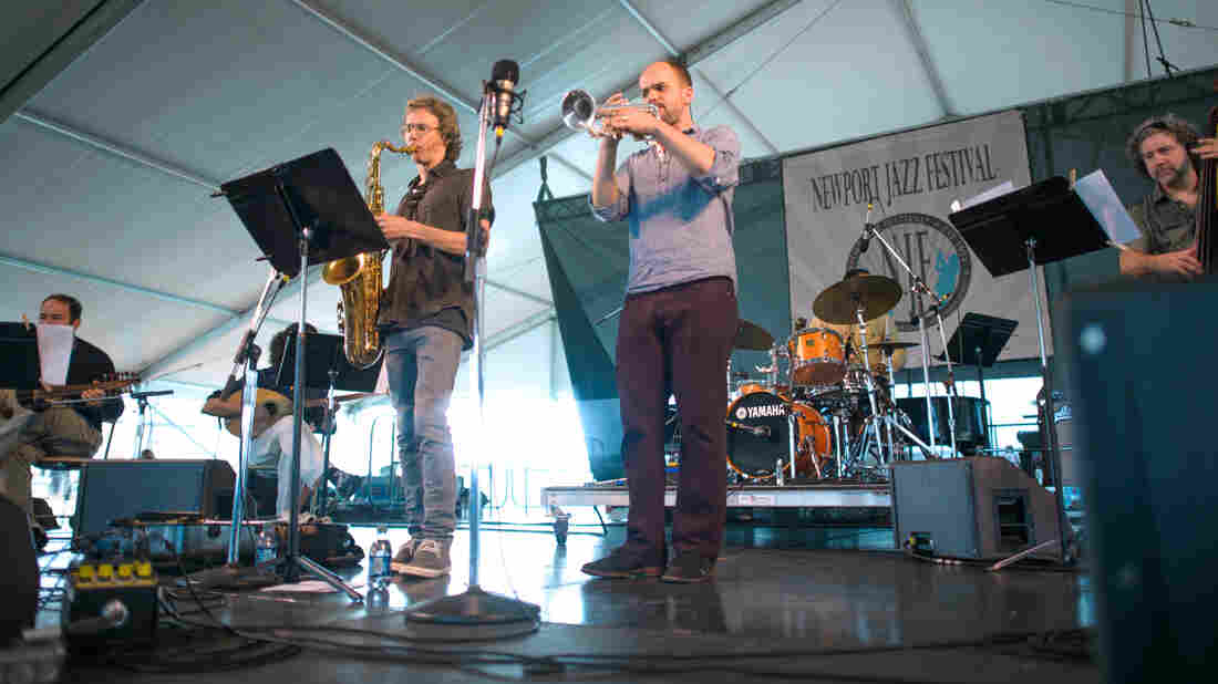 Amir ElSaffar and Two Rivers performs at the 2013 Newport Jazz Festival