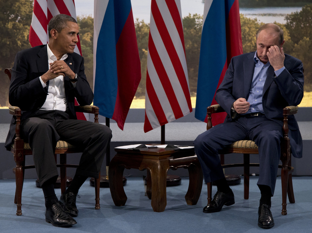 President Obama met with Russian President Vladimir Putin in Northern Ireland in June.
