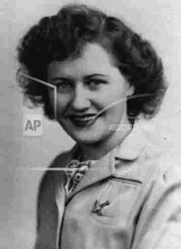 Rose Will Monroe, shown in this 1940s photo, was a riveter at Willow Run when she was asked to star in a promotional film about the war effort.
