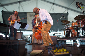 The Terence Blanchard Quintet performs at the 2013 Newport Jazz Festival.
