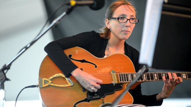 The Mary Halvorson Quintet performs at the 2013 Newport Jazz Festival.