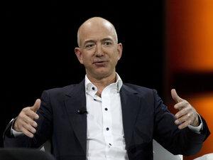 Jeff Bezos, a tech titan and Amazon founder, purchased a venerable newspaper, The Washington Post.