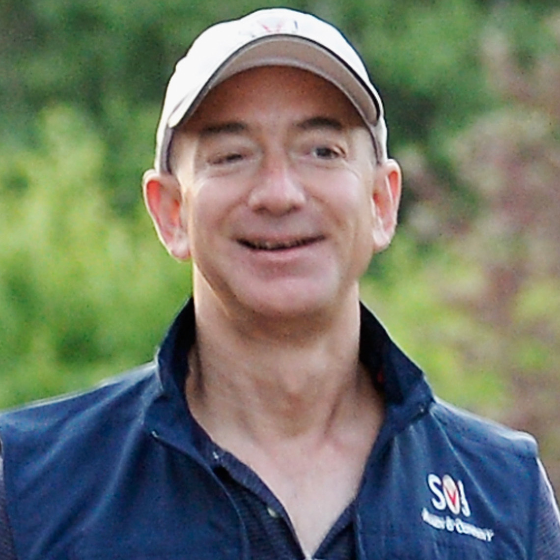Jeff Bezos, founder and CEO Amazon.com, in July.
