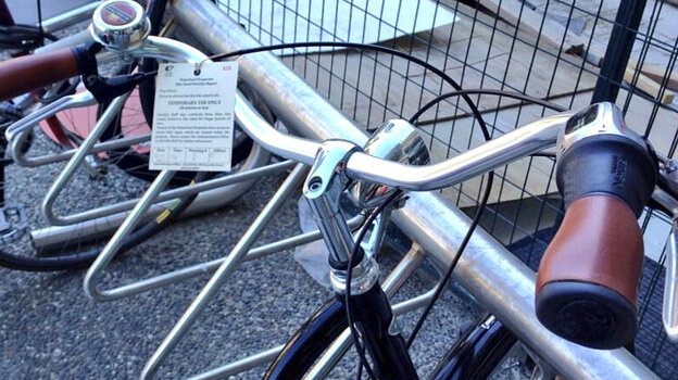 """""""So I got a ticket,"""" bike commuter Molly Millar wrote in a tweet last week. The Vancouver cyclist had left her bike in a rack outside her office building."""
