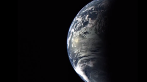 Earth as seen by the Messenger spacecraft.