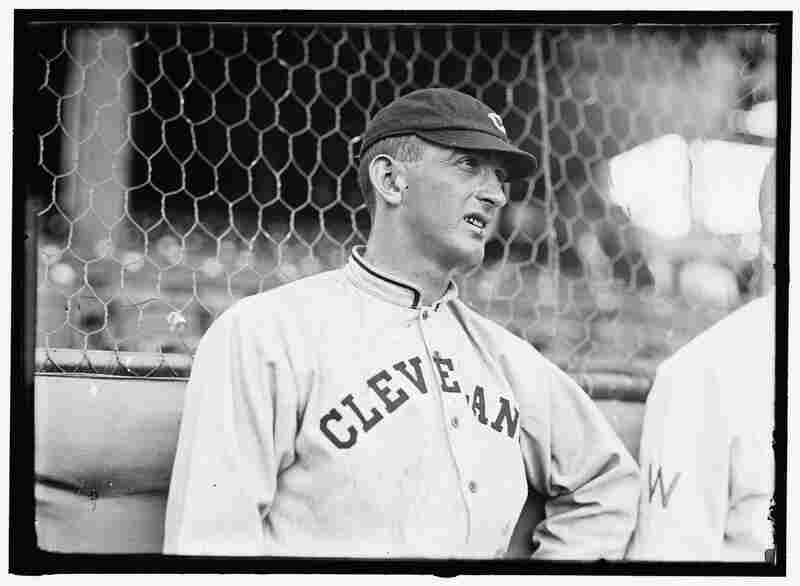"""Shoeless"" Joe Jackson: Seen here in 1913 during his time with the Cleveland Naps, Jackson and seven other members of the 1919 Chicago ""Black Sox"" team were banned from baseball for conspiring to throw the World Series. Jackson's guilt has been a matter of dispute over the years."
