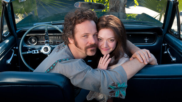 Amanda Seyfried plays girl-next-door porn star Linda Lovelace, who'd become a sensation in 1972's Deep Throat but later denounce her manager-husband (Peter Sarsgaard) as abusive and manipulative.