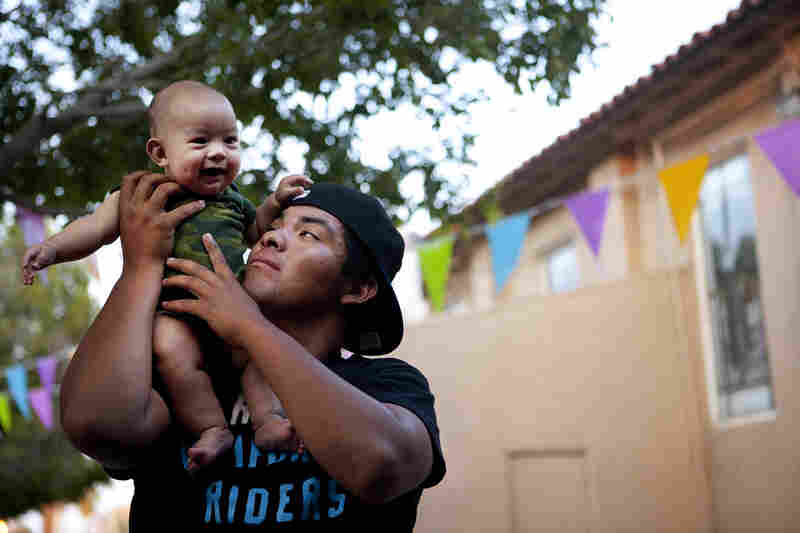 A year after graduating from high school, Francisco became a father to Javier. Between work and his responsibilities as a father, he has had less time for activist causes.