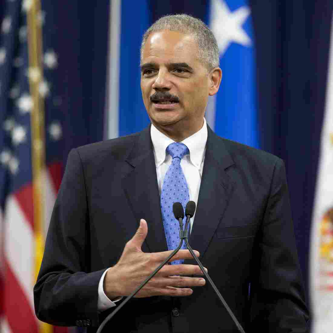 With Holder In The Lead, Sentencing Reform Gains Momentum