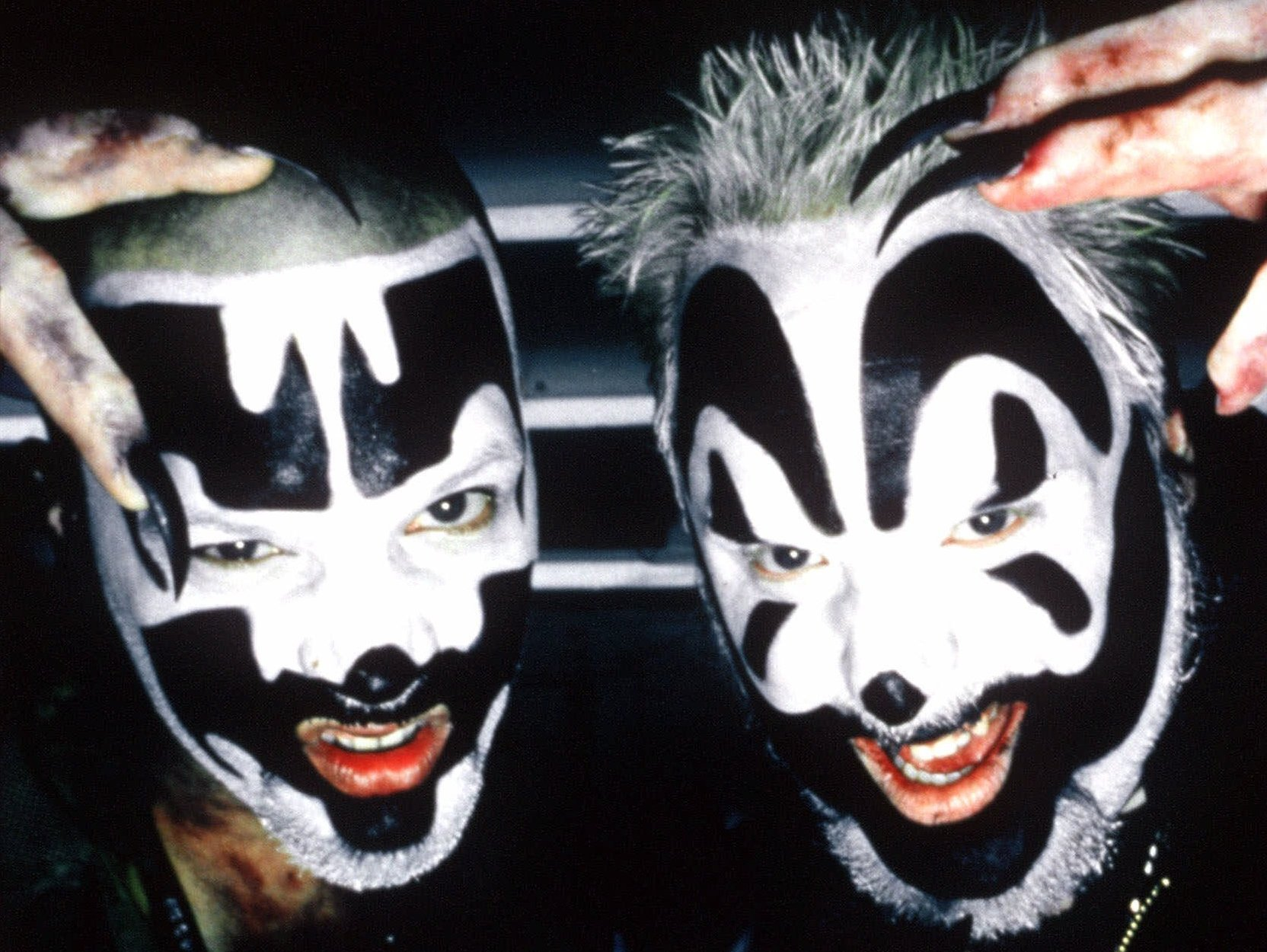 Insane Clown Posse: also pretty scary.